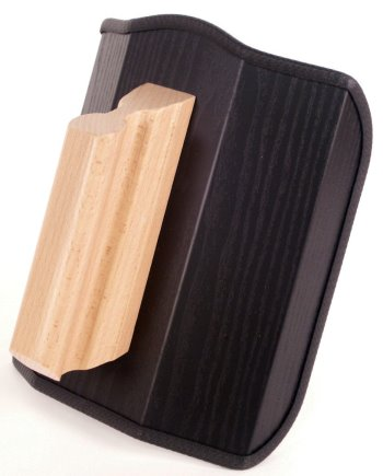 Dieses Bild zeigt das Re-Champ Handregiepult für Fernbedienungen in Esche schwarz Nachbildung